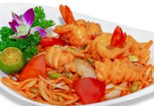 Du lịch Trung Quốc - Món ăn Trung Quốc - Mì xào Phúc Kiến